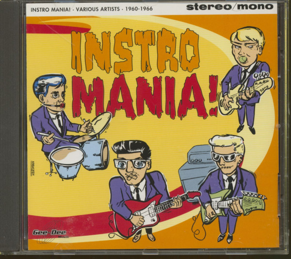 Instro Mania 1960-66 (CD)