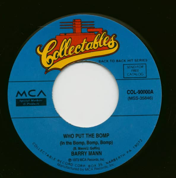 Who Put The Bomp - Sealed With A Kiss (7inch, 45rpm)