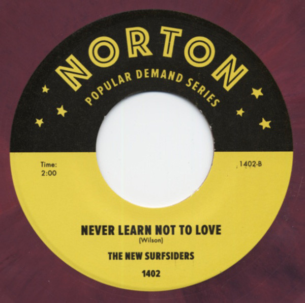 Smile Medley - Never Learn Not To Love 7inch, 45rpm