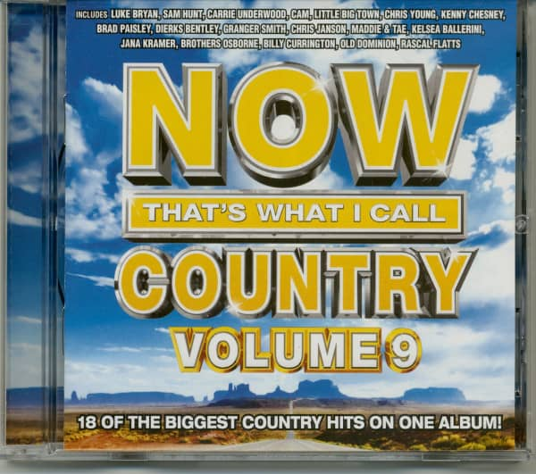 Now That's What I Call Country Vol.9 (CD)