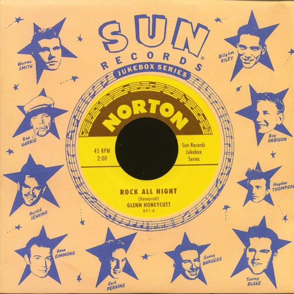 Sun Records Jukebox Series - Glenn Honeycutt & Jimmy Wages (7inch, 45rpm)