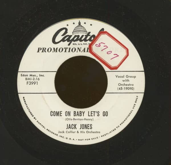 Come On Baby Let's Go - You Laugh (7inch, 45rpm)