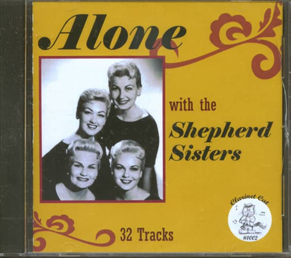 Alone With The Shepherd Sisters (CD)