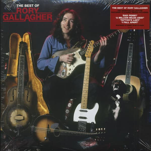 The Best Of Rory Gallagher (2-LP, 180g Vinyl)