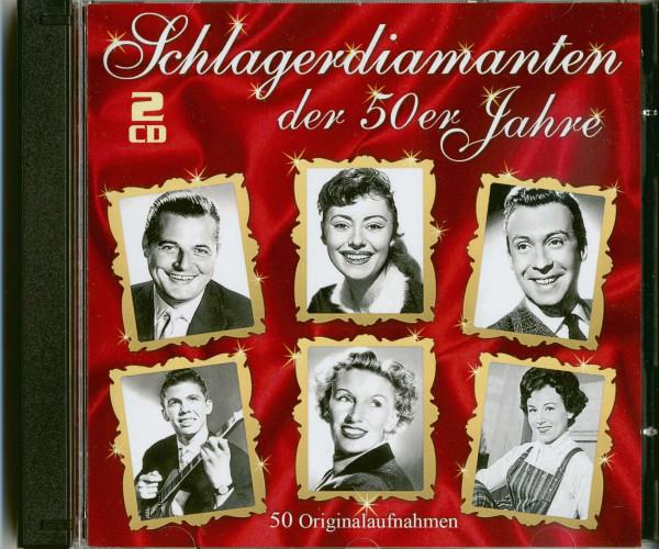 Schlagerdiamanten der 50er Jahre (2-CD)