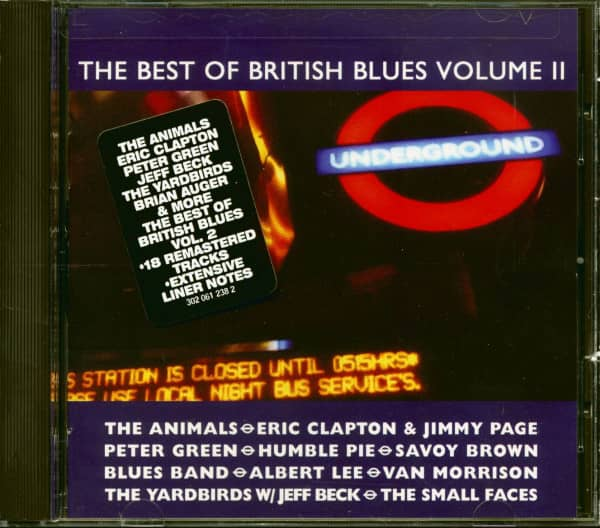 The Best Of British Blues, Vol.2 (CD)