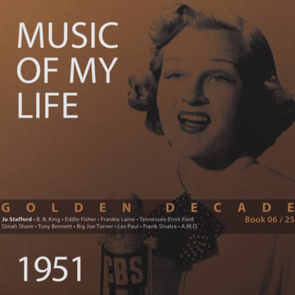 Music Of Life - 1951 - Golden Decade, Vol.6 (Book & 4-CD)
