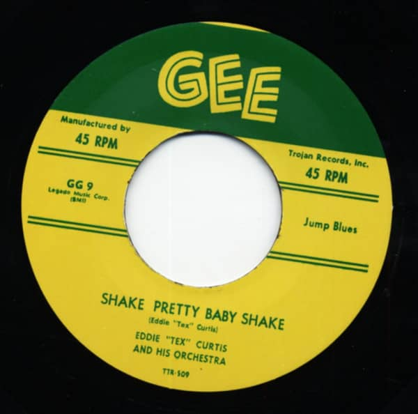 Skake Pretty Baby Shake b-w What I Say? 7inch, 45rpm