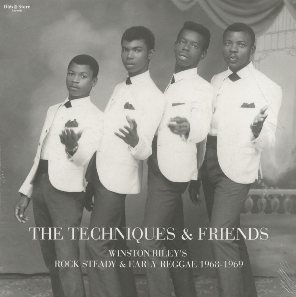 The Techniques And Friends - Rock Steady And Early Reggae 1968-69 (LP)