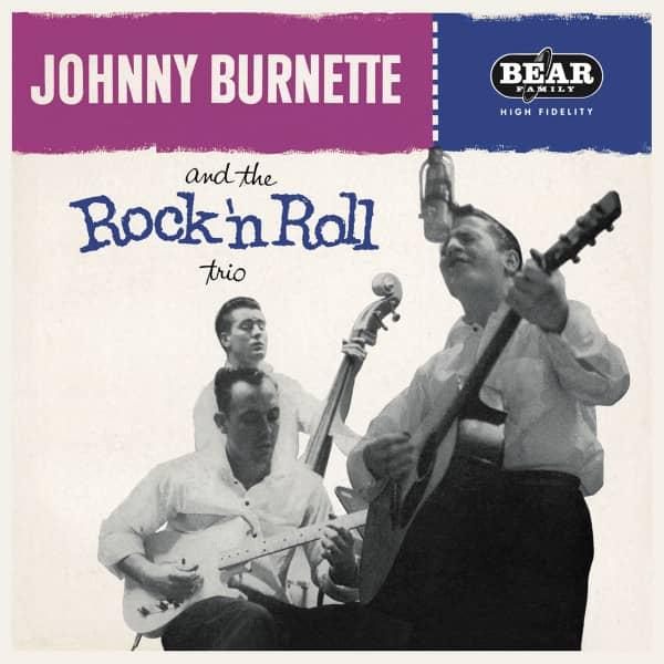 Johnny Burnette & The Rock & Roll Trio ( LP, 180g Vinyl)
