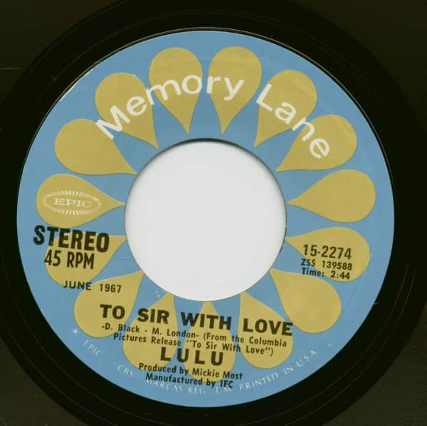 To Sir With Love - Morning Dew (7inch, 45rpm)