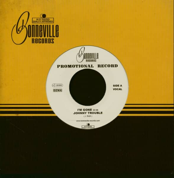 I'm Gone - King Of The Rail ((7inch, 45rpm, Company Sleeve)