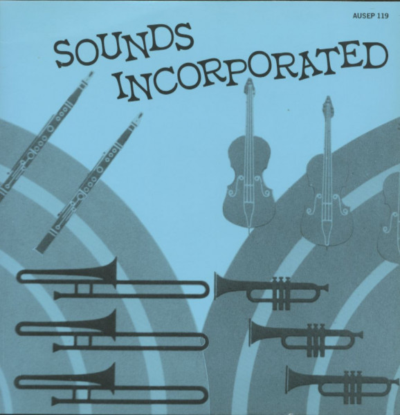 Sounds Incorporated (EP, Australian 7inch EP Series, 45rpm, PS, SC)