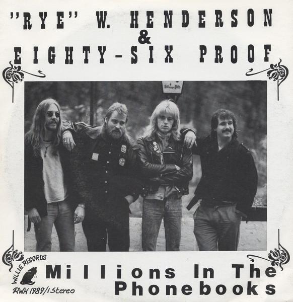 & Eighty-Six Proof 7inch, 45rpm