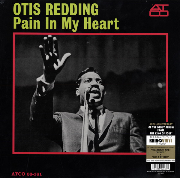 Pain In My Heart 50th Anniversary 180g Vinyl - Limited Edition