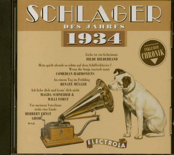 Schlager des Jahres - 1934 (CD)