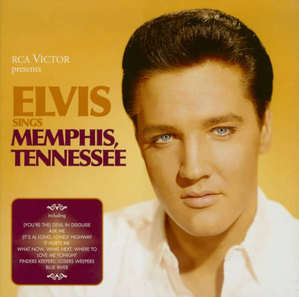 Elvis Sings Memphis Tennessee (2-CD, Deluxe Edition)