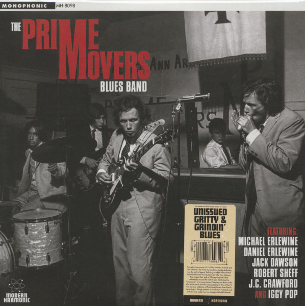 The Prime Movers Blues Band (2-LP)