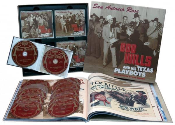 San Antonio Rose (11-CD & 1-DVD & Book)