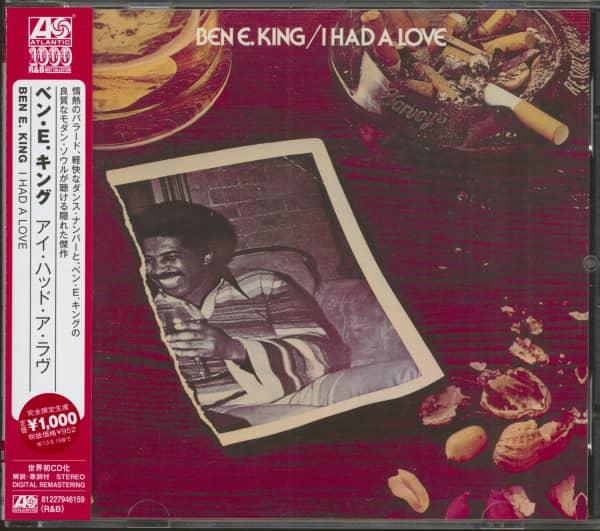 I Had A Love (CD, Japan)