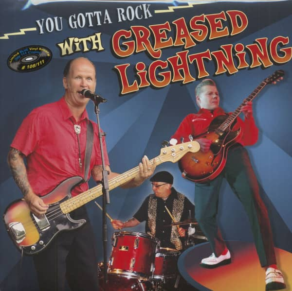 You Gotta Rock With Greased Lightning (LP, Blue Vinyl, Limited & Numbered)