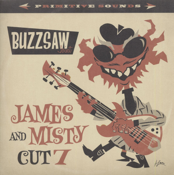 Buzzsaw Joint Cut 7 - James & Misty (LP)