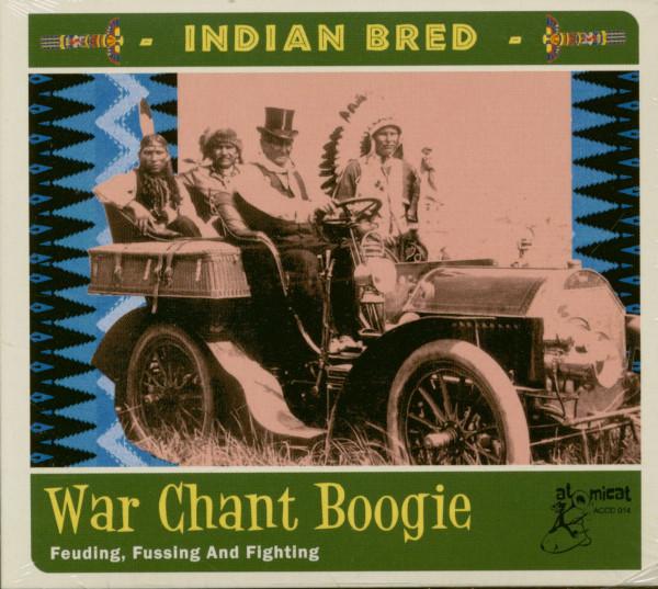 Indian Bred Vol.3 - War Chant Boogie (CD)
