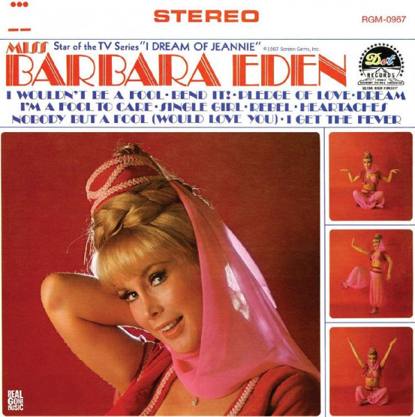 Miss Barbara Eden (LP, Pink Vinyl, Ltd.)