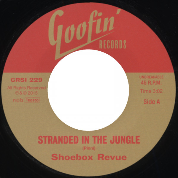 Stranded In The Jungle - Heartbreaking Blues (7inch, 45rpm)