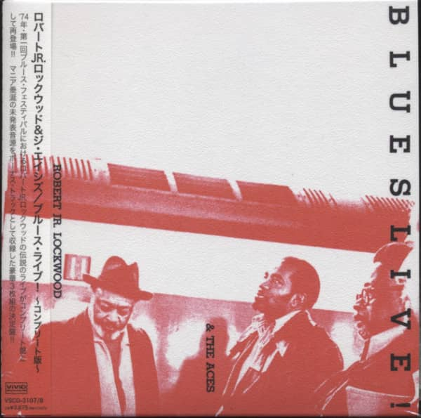 Lockwood, Robert Blues Live! (3-CD)