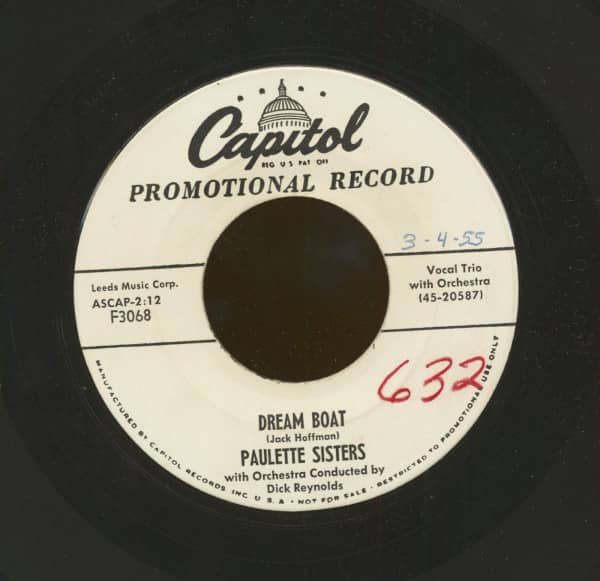 Dream Boat - Leave My Honey Be (7inch, 45rpm)