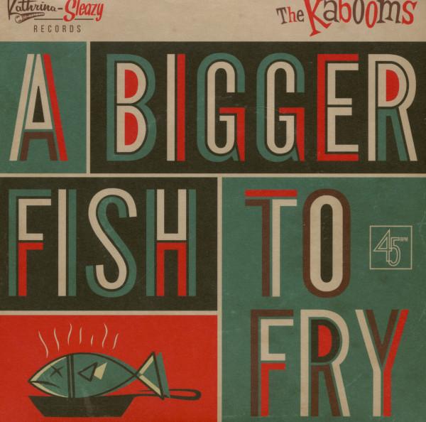 A Bigger Fish To Fry - Yo No Se (7inch, 45rpm, PS)
