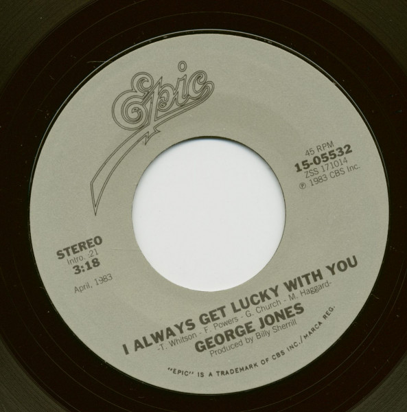 I Always Get Lucky With You - Tennessee Whiskey (7inch, 45rpm)