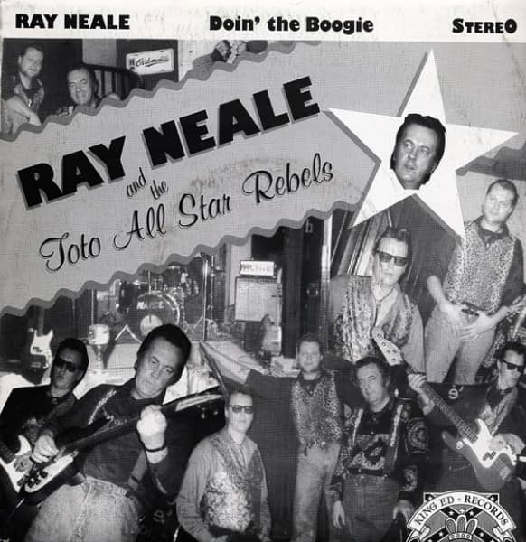 Ray Neale & Toto All Star Rebels 7inch, 45rpm