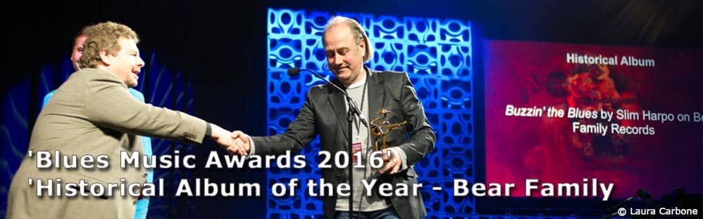 Blues Music Awards 2016' für 'Historical Album of the Year - Bear Family Records
