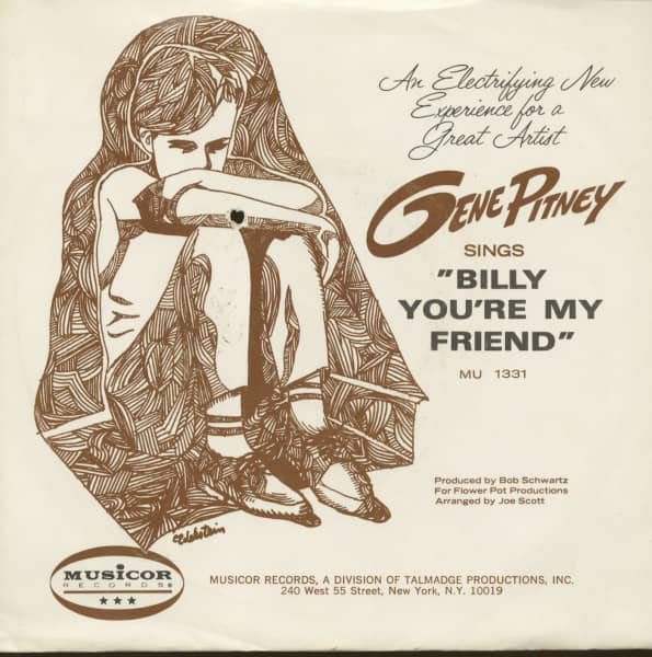 Billy You're My Friend - Lonely Drifter (7inch, 45rpm, PS)