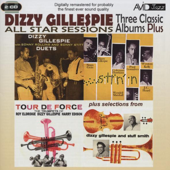 Gillespie, Dizzy Three Classic Albums (2-CD)
