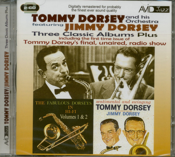 Dorsey Bros Three Classic Albums...plus (2-CD)