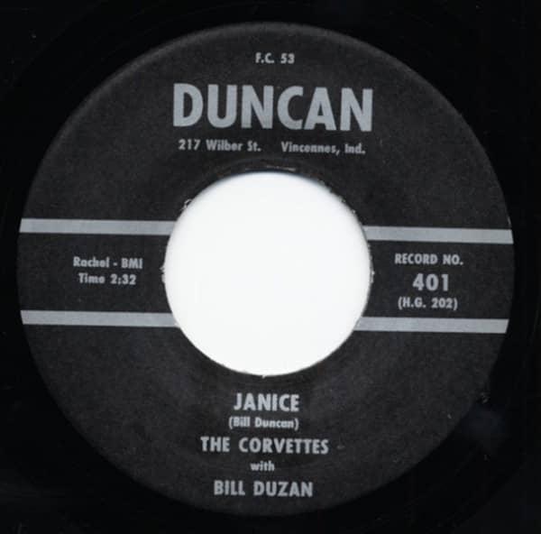 Janice - Shaften 7inch, 45rpm