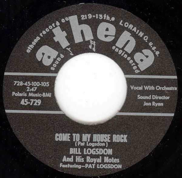 Come To My House Rock - Spitfire (7inch, 45rpm)