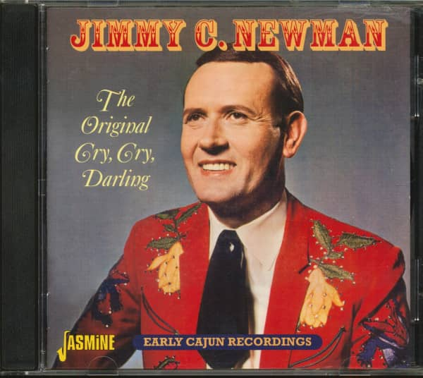 The Original Cry, Cry, Darling - Early Cajun Recordings (CD)
