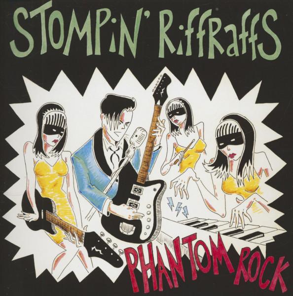 Phantom Rock (7inch, 45rpm, PS)