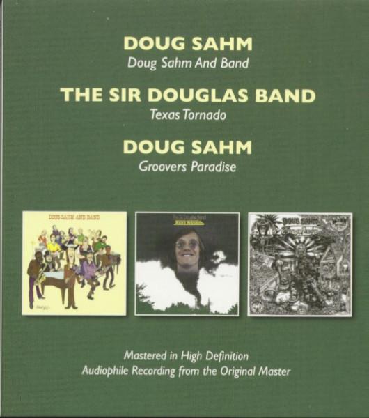 Doug Sahm & Band - Texas Tornado - Groovers Paradise (2-CD)
