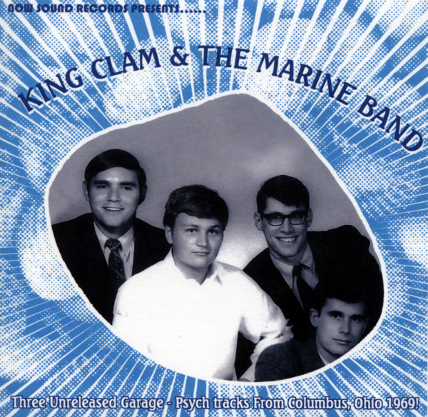 King Clam & The Marine Band 7inch, 45rpm, EP, PS, SC