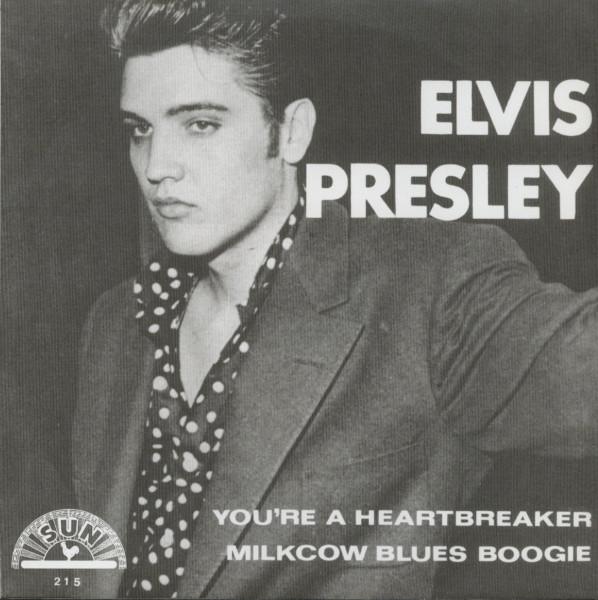 You're A Heartbreaker b-w Milkcow Blues Boogie - 7inch, 45rpm, PS - gold vinyl