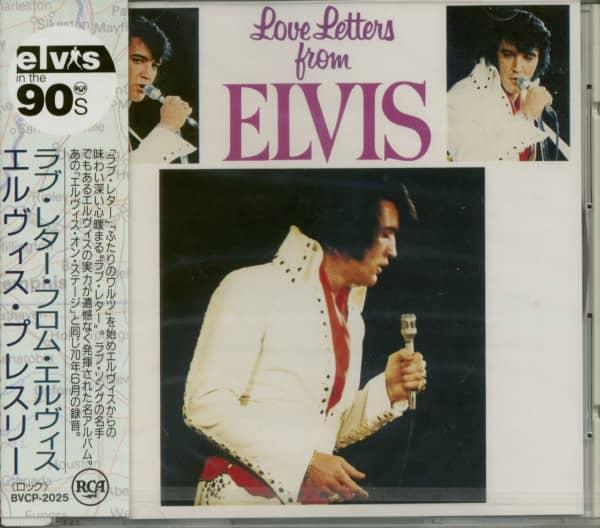 Love Letters From Elvis (1971) Japan Pressing (CD)
