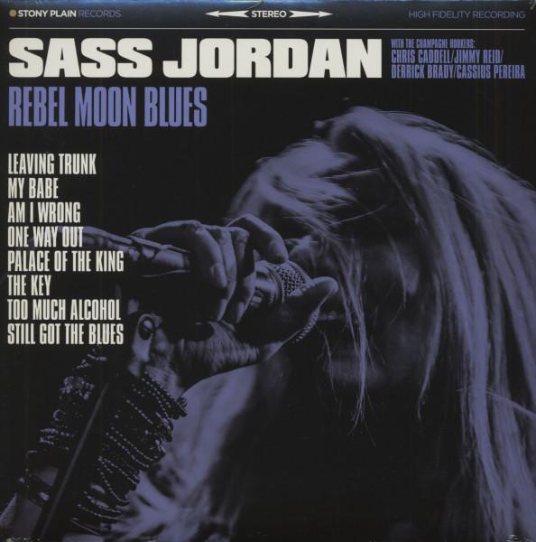 Rebel Moon Blues (LP, Blue Vinyl)