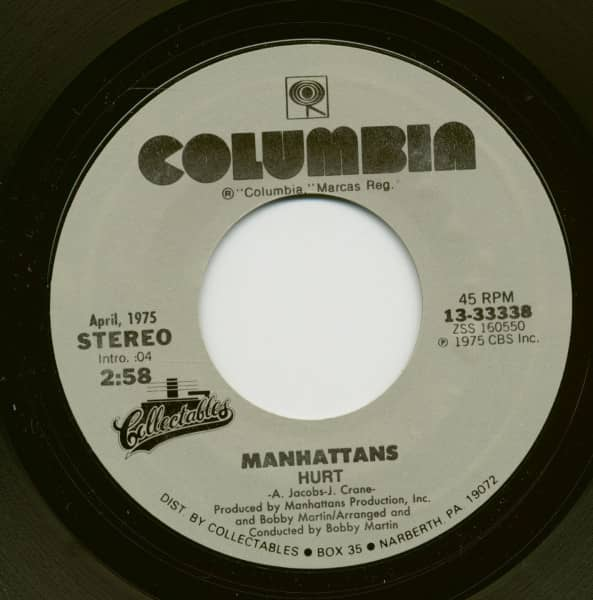 Hurt - Kiss And Say Goodbye (7inch, 45rpm)