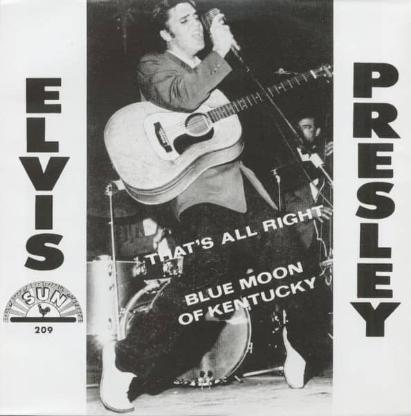 That's All Right - Blue Moon Of Kentucky, 45rpm, PS, gold vinyl