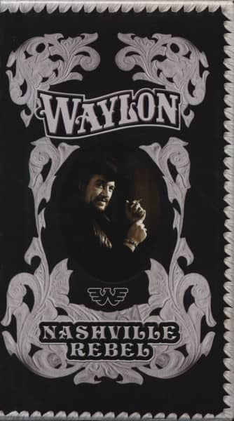 Jennings, Waylon Nashville Rebel (4-CD) Deluxe Boxset
